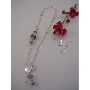 Collier Lac rose